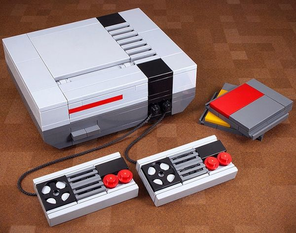 Made Us Look: How to Use Legos to Build Old School Electronics