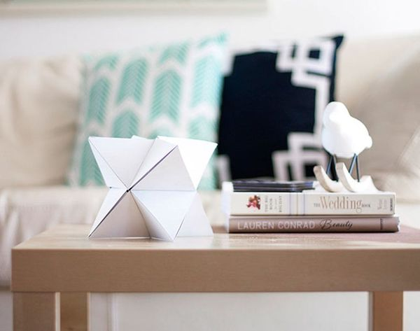 DIY Origami Decor is Way Easier Than You'd Think