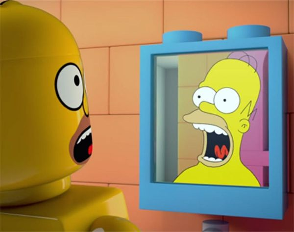 D'OH: Watch the Trailer for the ALL-Lego Simpsons Episode