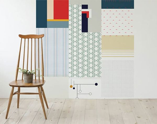 Cut + Paste Makes Hanging Wallpaper Ridiculously Easy