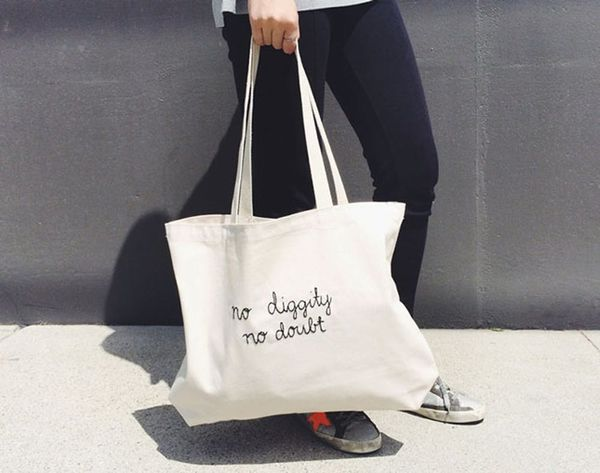 We're No Diggity, No Doubt Obsessed With These '90s Hip-Hop Totes