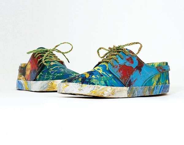 Spoiler Alert: These Shoes Are Made From Trash