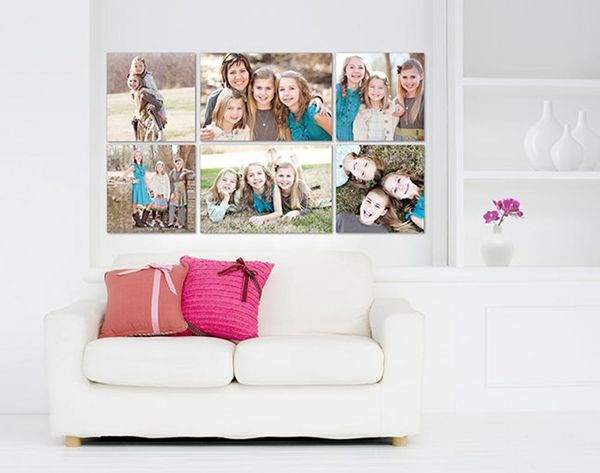 Drag + Drop on This Site to Make Custom Gallery Walls in Your Home