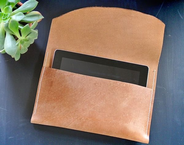 DIY a Leather Tablet Case for WAY Less Than You'd Think