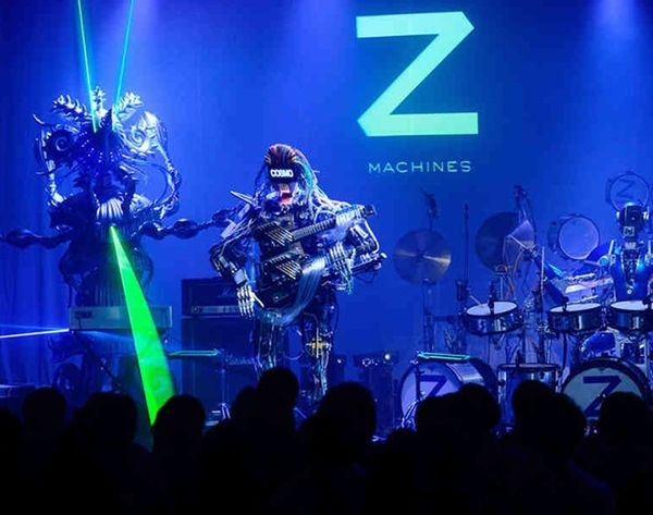 Friday Jam Sesh: Watch This Robot Band Rock Out!