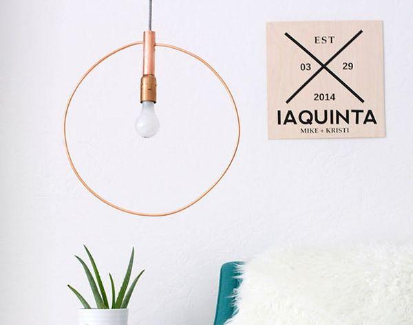 DIY Copycat: Make This $375 Hoop Light for Just $60