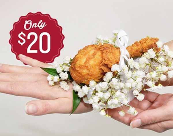 WTF: KFC Introduces the Chicken Corsage. Seriously.