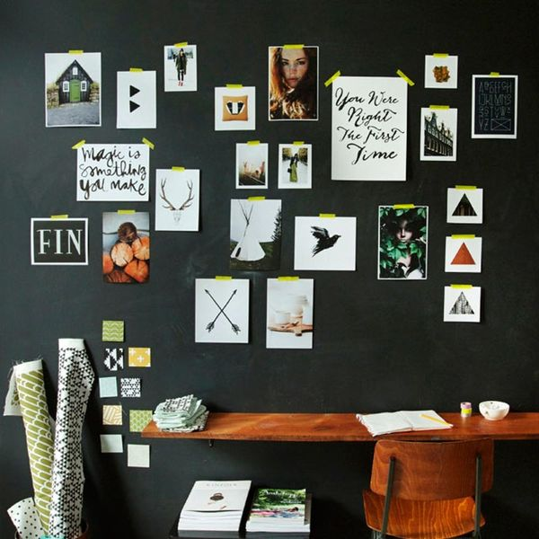 Don't Be Afraid of the Dark: 12 Black Walls Done Right