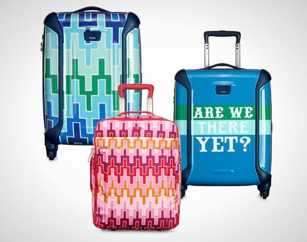 Jonathan Adler + Tumi Made the Most Colorful Luggage Ever