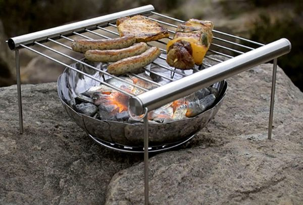 This Portable Grill Looks Smoking Hot: Grilliput