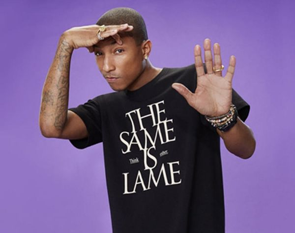 Get Happy: Pharrell is Launching a T-Shirt Line With UNIQLO
