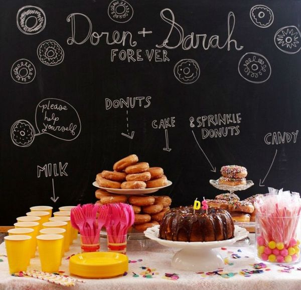 Donut Party Trend: 19 Donut Party Accessories for Your Next Fête