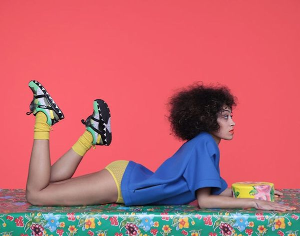 Solange Knowles Just Designed the Coolest Sneakers Ever