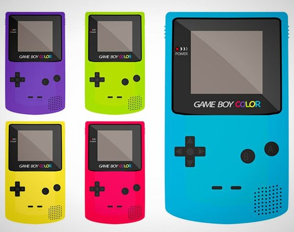 Game Boy's Latest Line Paints With ALL the Colors of the Wind/Rainbow