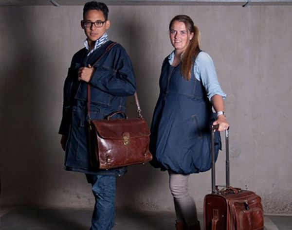 Say What? Wear Your Luggage to Avoid Extra Baggage Fees