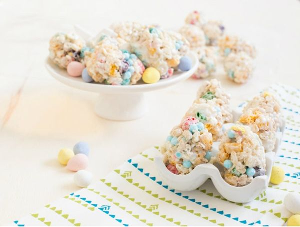 Rice Krispie Treat Remix: Easter Edition!