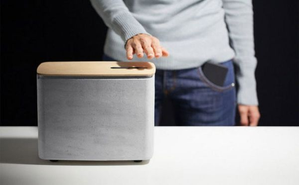 Watch How Hand Gestures Control This Crazy Cool Speaker
