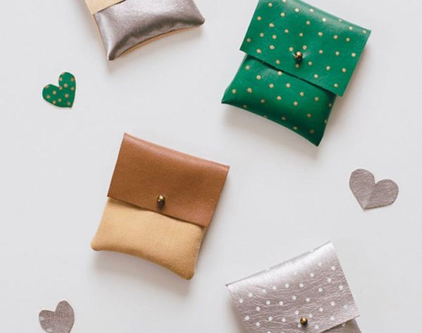 Style Hack: How to Make Faux-Leather Pouches