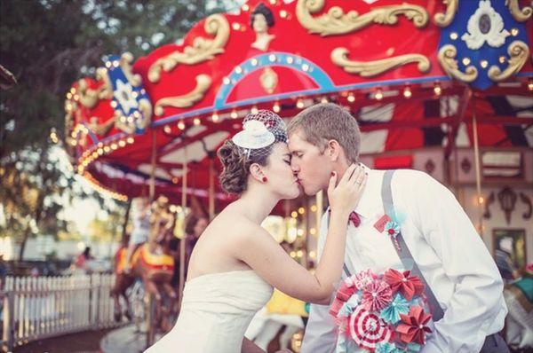 Razzle Dazzle Them: 24 Circus-Themed Wedding Inspirations
