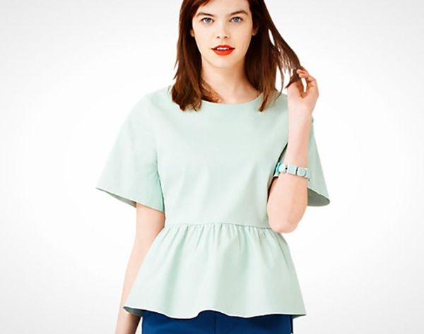 14 Breezy Peplum Tops to Get Your Fit and Flare on
