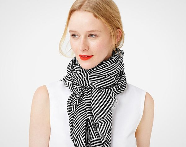 12 Patterned Scarves Guaranteed to Steal the Spring Spotlight