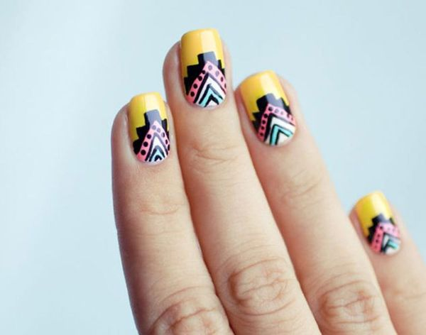 Tribal Nail Art: Ace These 18 Aztec-Inspired Manis