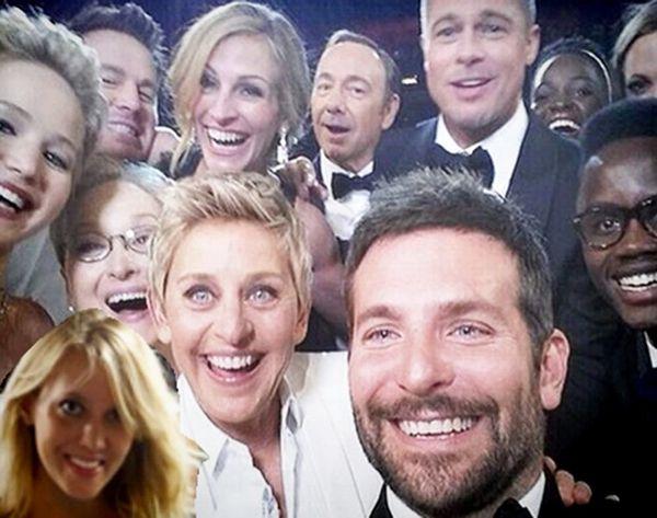 This App Lets You Photoshop Yourself Into Ellen's Famous Oscars Selfie