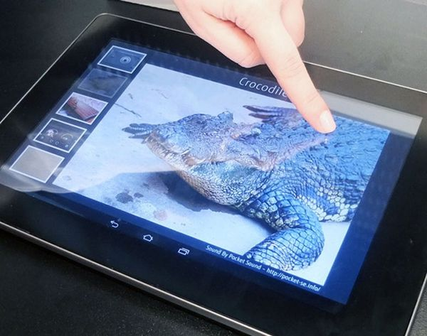 This Tablet Lets You (Literally) Feel What's on the Screen… WHAT?!