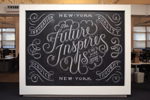 This Is What Happens When Chalkboards and Artists Collide…