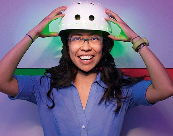 This Bicycle Helmet Reads Your Mind and Could Make Cycling in Your City Better