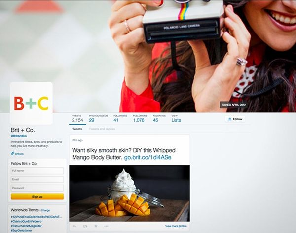 Your Twitter Profile is Starting to Look More Like Your Facebook Profile