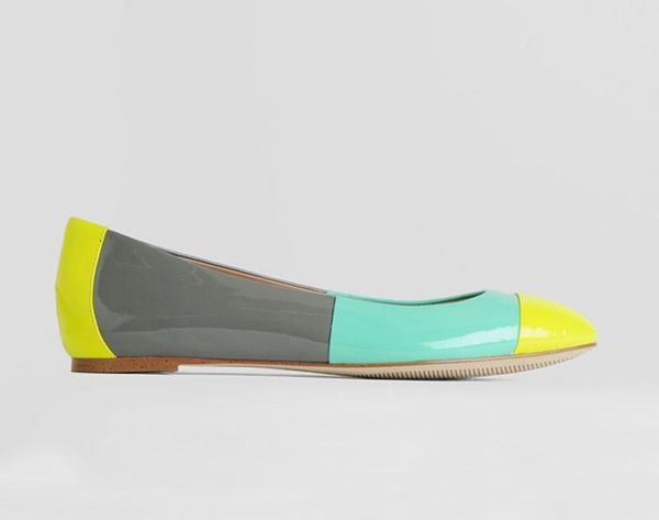 Step Into Sunnier Weather With These 21 Color Blocked Shoes