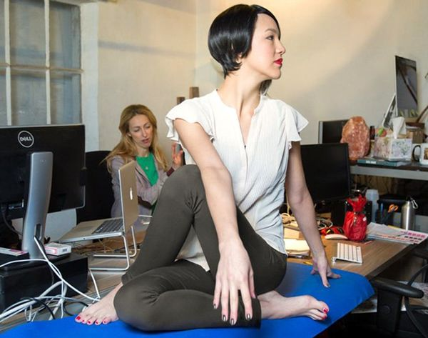Would You Wear These Yoga Pants to the Office?
