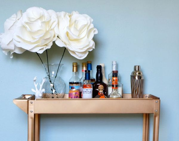 Make the Gold Bar Cart of Your Dreams