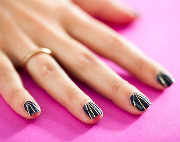 14 Striped Nail Art Tutorials to Try Now