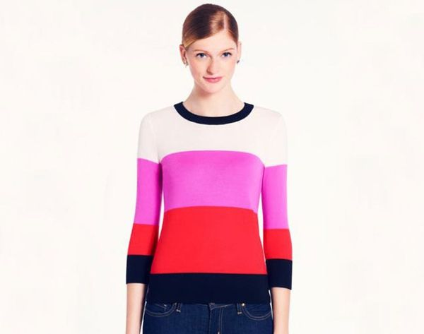 15 Color Block Knits to Brighten Up Your Winter Wardrobe