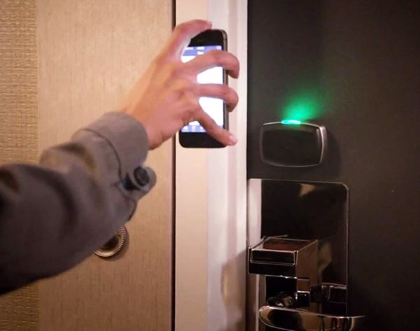 You've Been Upgraded: Your Phone is Your Future Hotel Key