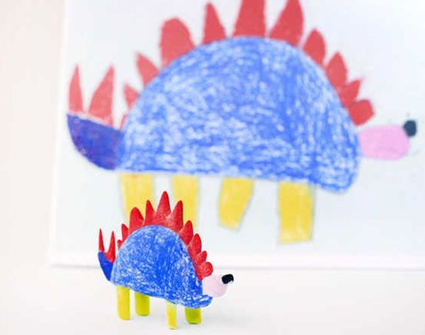 This Amazing Project Turns Your Kids' Drawings into 3D Objects
