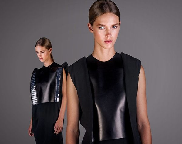Is This the First Ever Phone-Charging Dress?!