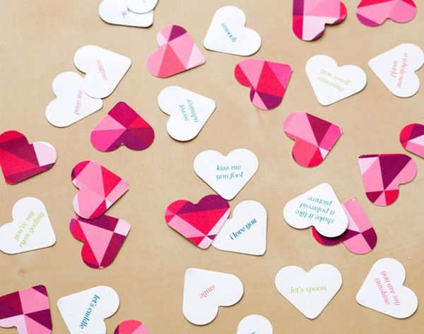 You'll Fall Head Over Heels for Our Conversation Heart Confetti (Free Printable!)