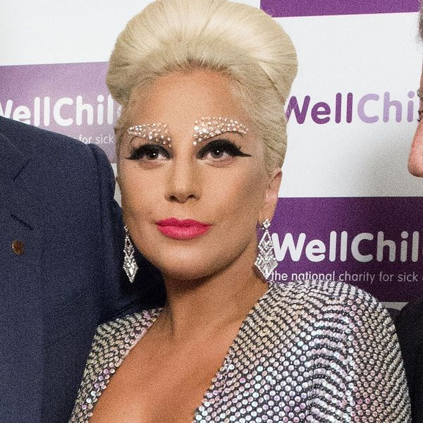 Lady Gaga's Blinged Brows Are All Kinds of Awesome
