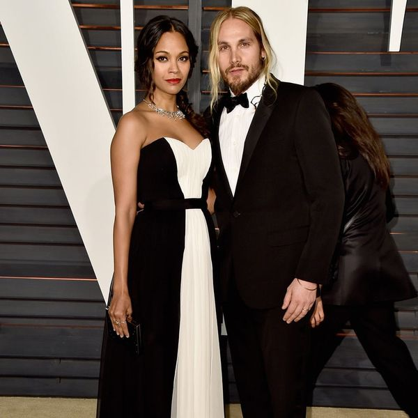Did Zoe Saldana's Husband Just Start a Non-Traditional Marriage Trend?