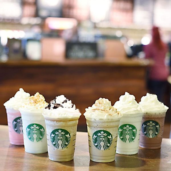 Starbucks Has 6 New Frappuccino Flavors You Need to Try