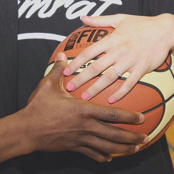 This Basketball Player's Proposal Is Just the Cutest