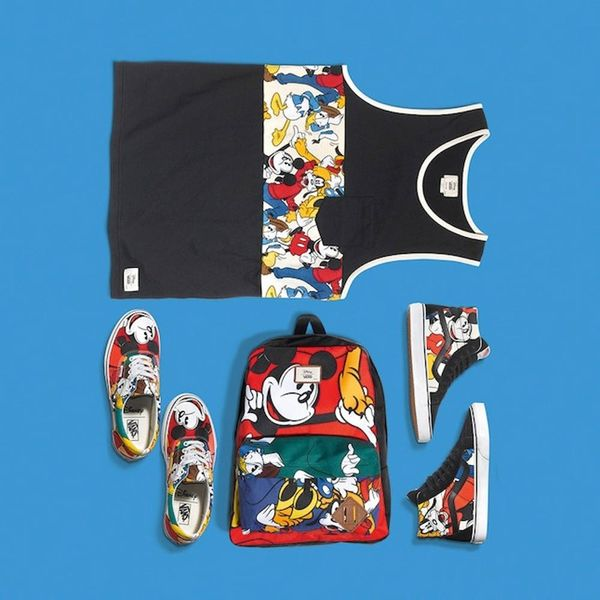This Disney + Vans Collab Will Make You Feel like a Kid Again