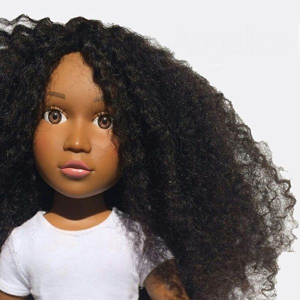 Step Aside, Barbie, We're All About This Natural-Hair Doll