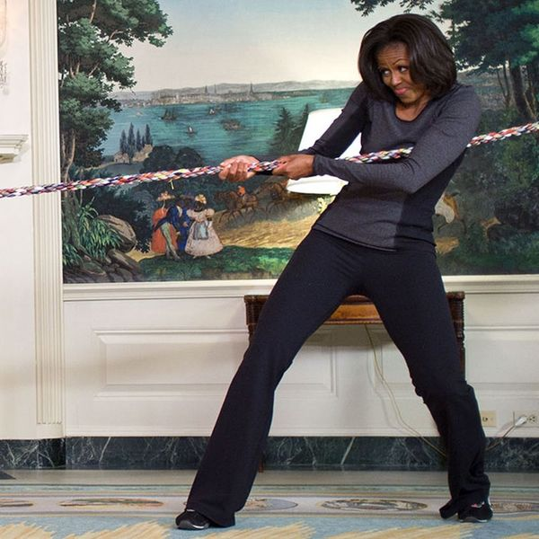Here's How to Work Out like FLOTUS