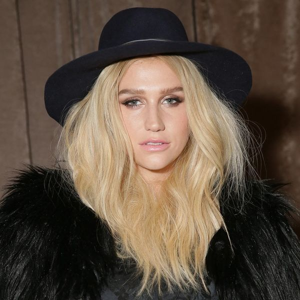 Kesha's New Hair Color Is Not What You'd Expect