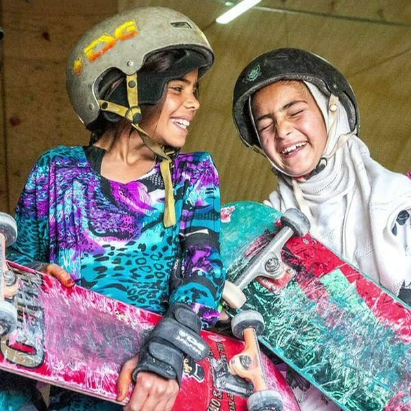 See Why in Afghanistan, Skateboarding = Girl Power