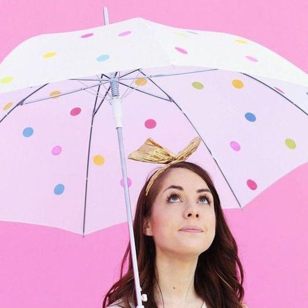 13 Rainy Day DIYs to Upgrade Your Umbrella (Ella, Ella)